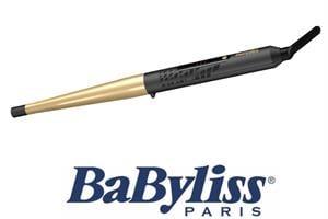 """BaByliss מסלסל קוני 13-25 מ""""מ עם ציפוי קרמי מוזהב דגם C435E"""