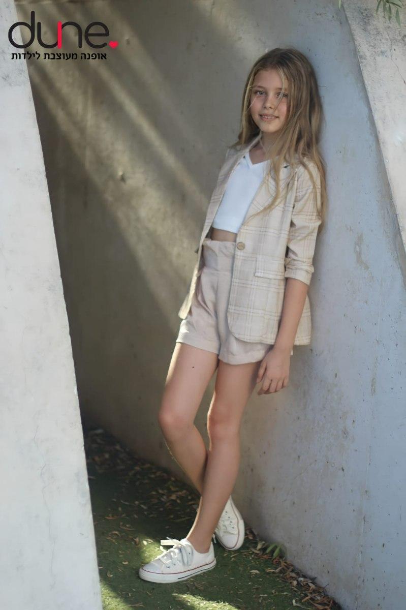 סט מכנס, חולצה וגק'ט