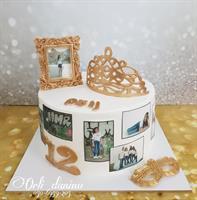 אבקת זהב לקישוט עוגות |אבקה בצבע זהב עשיר | לא למאכל | לא רעיל | לשיווק החל מ - 24.1.2020