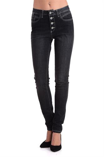ג'ינס ליאנה שחור