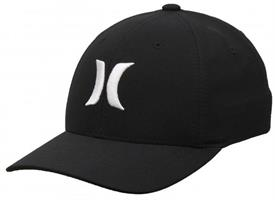 Hurley Boy's Dri-Fit One and Only Hat - Black / White