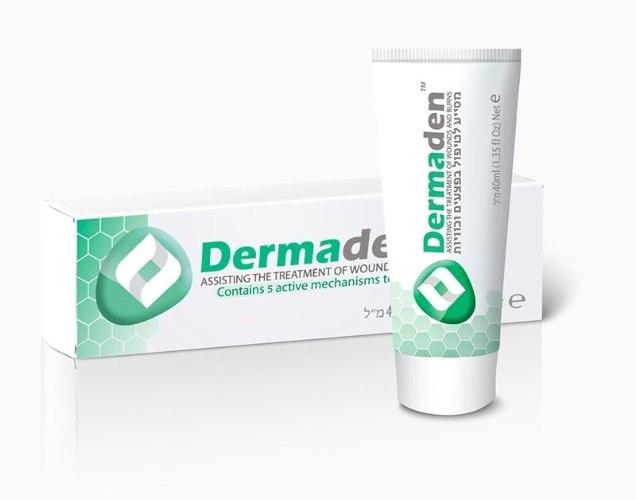דרמדן לטיפול בפצעים וכוויות Dermaden