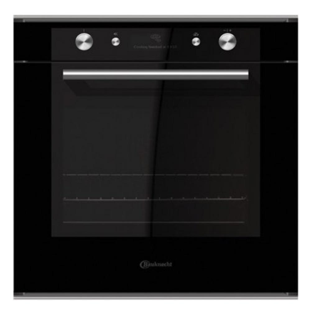 תנור אפייה בנוי Bauknecht דגם BLVMS8100-זכוכית שחורה
