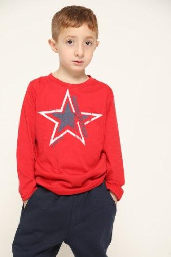 חולצת בנים טריקו כוכב
