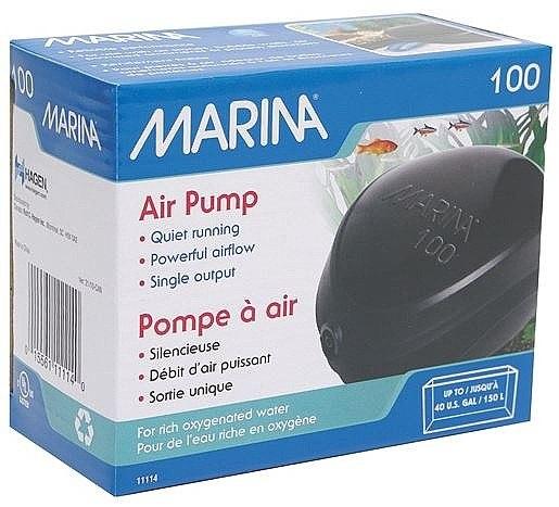משאבת אויר לאקווריום 100 Marina לאקווריום בנפח עד 150 ליטר