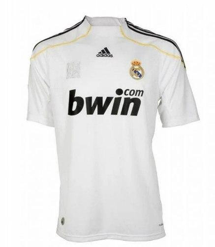 חולצת משחק רטרו ריאל מדריד בית 2009 (מידה L)