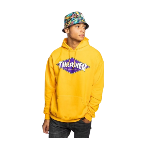 Thrasher Diamond Logo Hood
