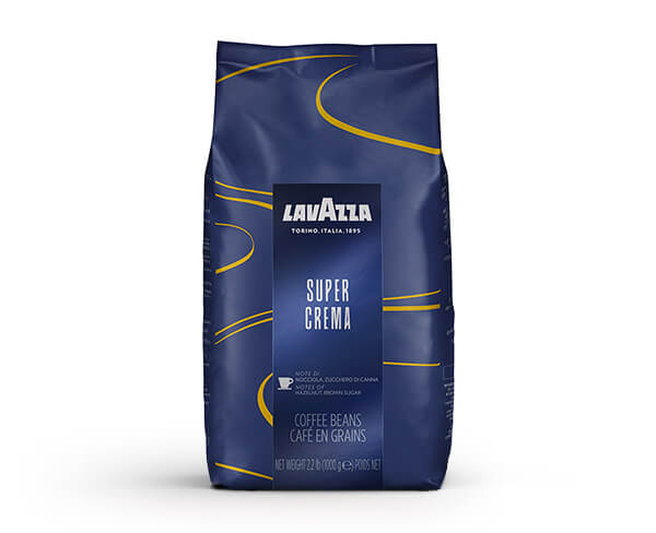 קפה לוואצה סופר קרמה 1 קג - Lavazza Super Crema Beans
