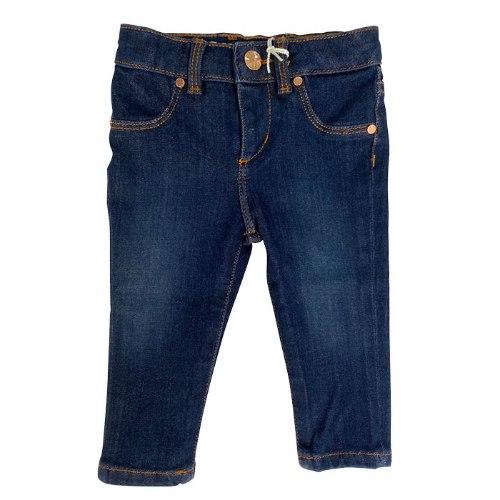 ג׳ינס סקיני בנות כחול כהה GUESS בנות  - 3 חודשים - 7 שנים