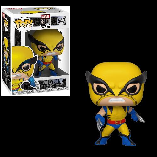 בובת פופ! מארוול 80 שנה - וולברין הופעה ראשונה
