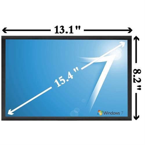 """מסך למחשב נייד לנובו Lenovo T500 15.4"""" LCD Screen Panel 1680*1050 CCFL"""