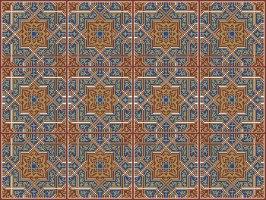"""מדבקות אריחים 10*10 ס""""מ מרוקו TIVA DESIGN"""