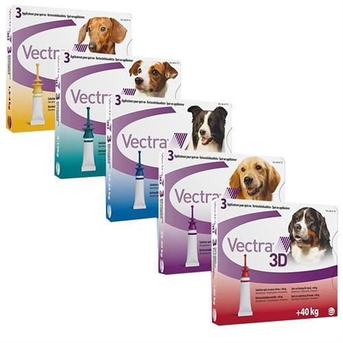 """אמפולה וקטרה לכלב למניעת פרעושים וקרציות במשקל 1.5 - 4 ק""""ג"""