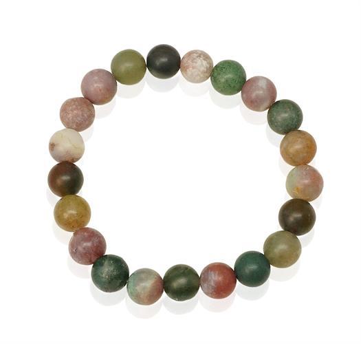 צמידי אבנים צבעוניות לאישה