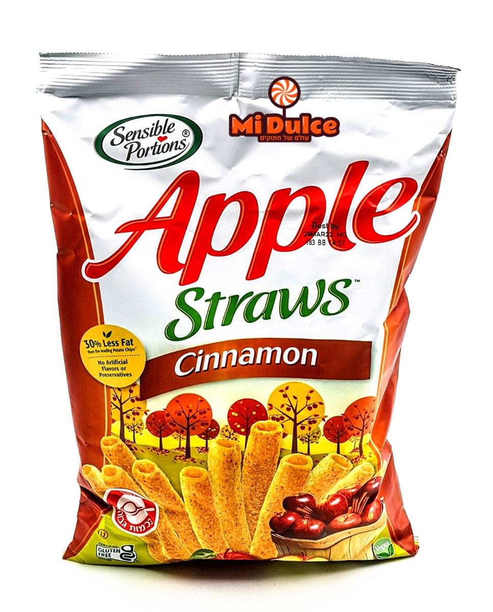 Apple Straws Cinnamon