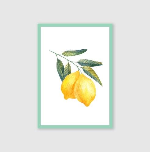 סט גלויות-- לימונים