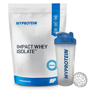 אבקת חלבון איזו Myprotein Impact Whey Isolate