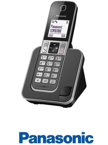 Panasonic טלפון אלחוטי דגם KX-TGD310MBB