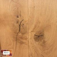 פרקט עץ אלון אירופאי מוברש גמר לכה רוחב 26, של חברת WICANDERS