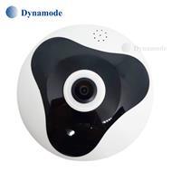 מצלמת אבטחה פנורמית IP אלחוטית 1080P עם ראית לילה 360 מעלות וחיבור מהיר לסמארטפון Dynamode