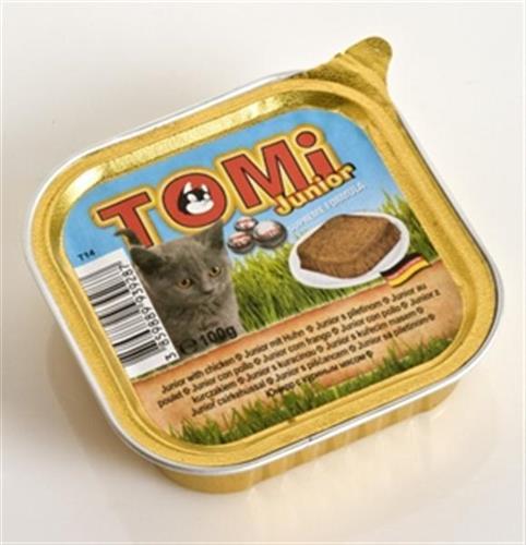 TOMI טומי מעדן פטה עוף לגור חתולים