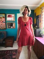 שמלת מיני כיפית ויפה מידה M/L