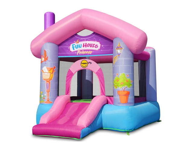 מתקן קפיצה בית הכיף נסיכות הפי הופ - 9215p - Fun House Princces Happy Hop