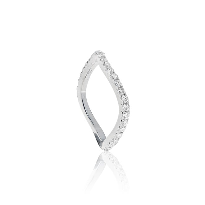 טבעת יהלומים 18 קרט משובצת 0.66 קראט