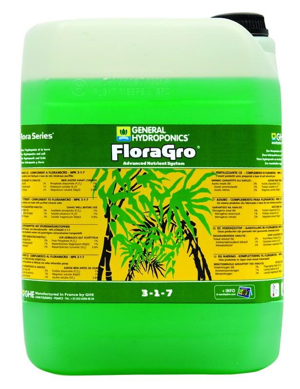 פלורה גרו 10 ליטר Flora grow
