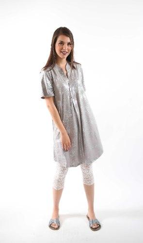 שמלת נרקיס אפור בהיר