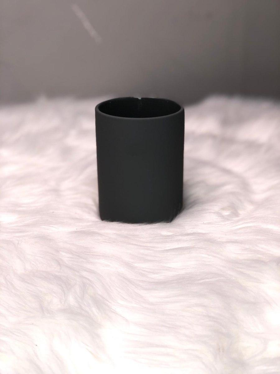 כוס למבשרות שיניים שחור