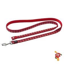 רצועה לכלב אדום משבצות מידה XS