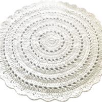 שטיחים סרוגים, שטיחים, שטיח עגול, שטיח סרוג תחרה, שטיח בהזמנה, שטיחים עגולים, שטיח דוגמת תחרה שטיח תחרה, שטיח עגול סרוג
