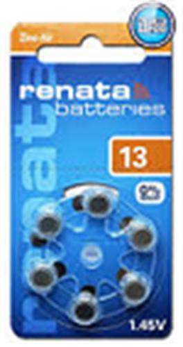 סוללות למכשירי שמיעה RAYOVAC 13