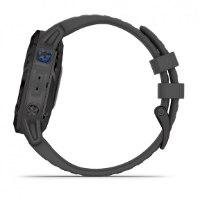 שעון דופק Garmin Fenix 6 Pro Solar Black with Slate Gray Band