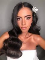 תכשיט לשיער פרח מלאני לבן
