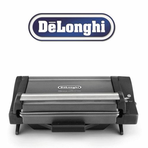 טוסטר / גריל לחיצה DeLonghi דגם: CG-4001.BK