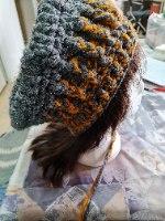 כובע ברט מחוט פולו כפול
