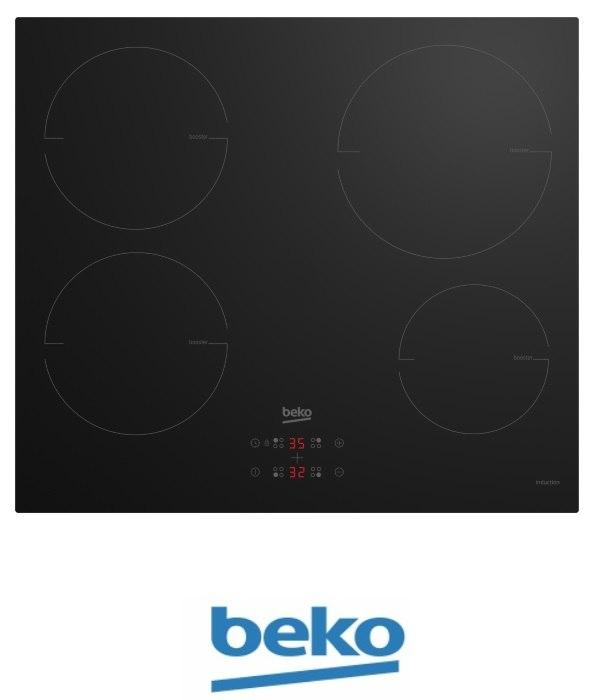"beko כיריים אינדוקציה תלת פאזי 60 ס""מ דגם HII64400MT"