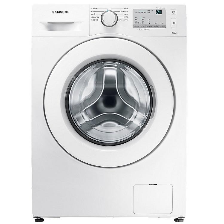 """מכונת כביסה פתח קידמי Samsung WW6SJ3283 6 ק""""ג סמסונג"""