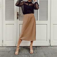 חצאית JEN- מוקה