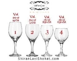 כוס קידוש זכוכית   סט קידוש   כוס יין לחופה