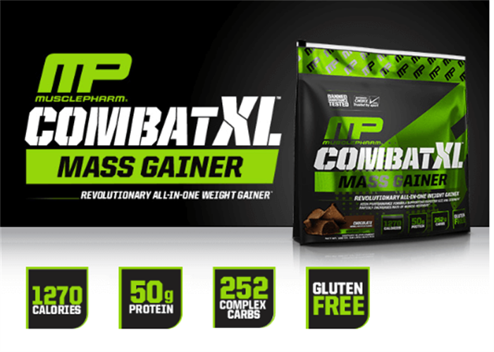 גיינר קומבט אקס אל מאסל פארם - Combat XL Mass Gainer כשר|מחיר מוזל