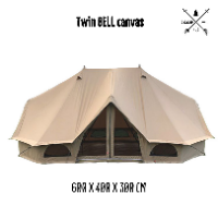 Twin Bell Canvas Tent