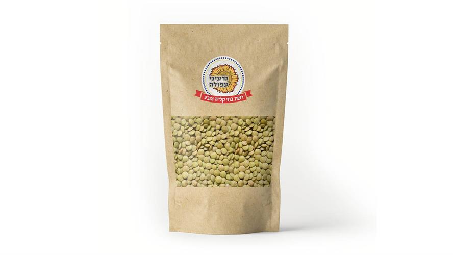 עדשים ירוקים 500 גרם
