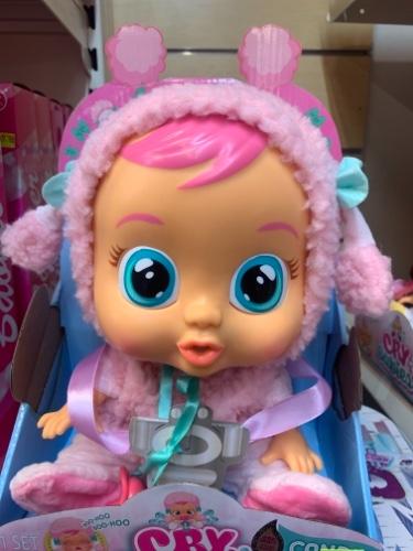קריי בייביז - בובת תינוק בוכה  קנדי cry babies