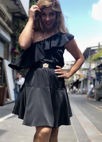 שמלת שרה שחורה