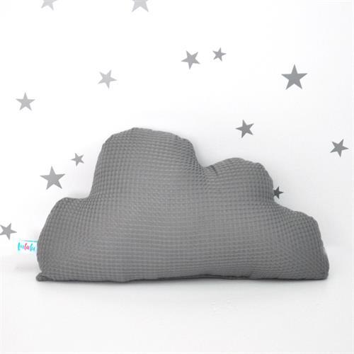 כרית ענן אפורה