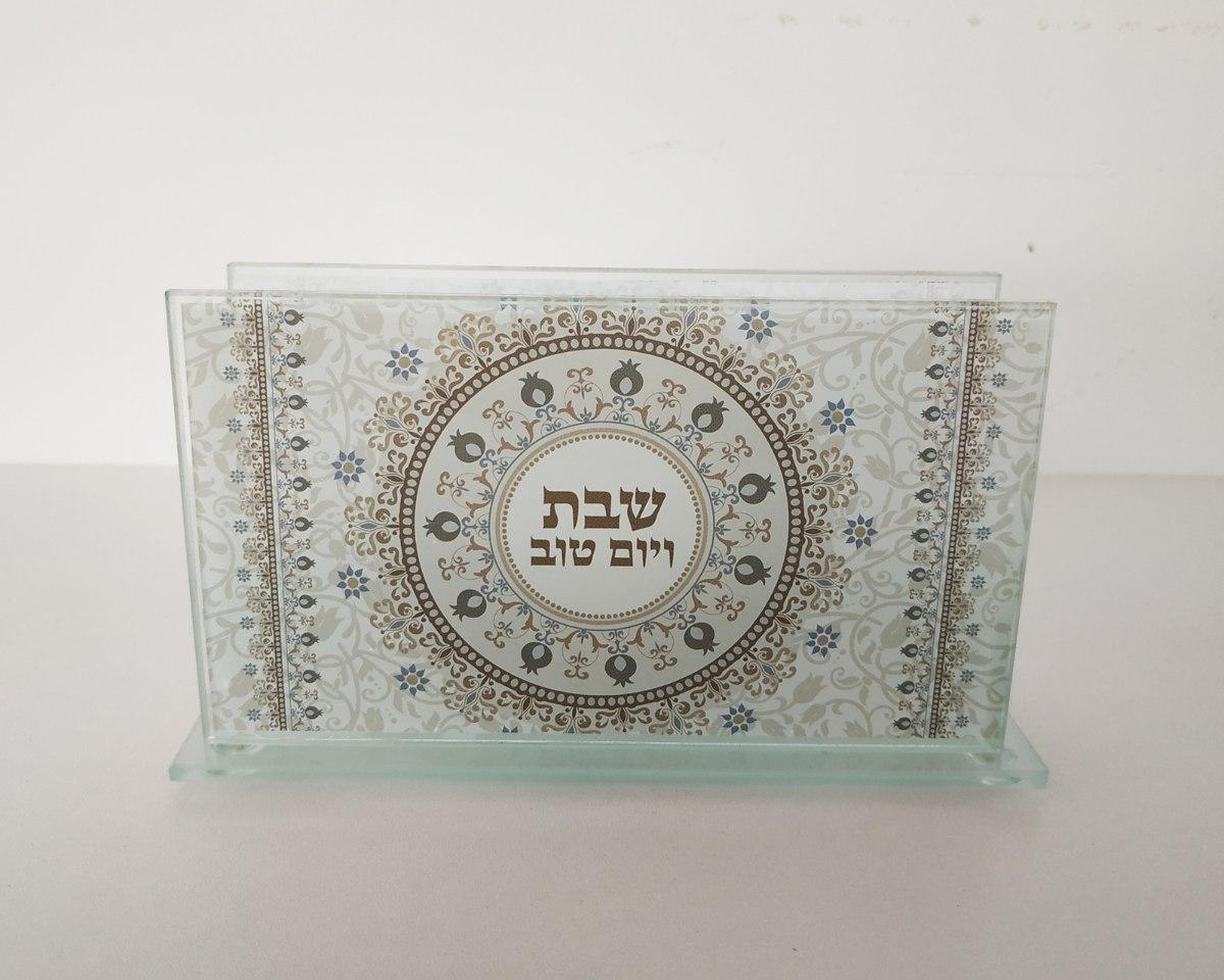 מעמד לקופסת גפרורים - דגם מנדלה שמנת