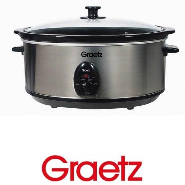 GRAETZ סיר בישול איטי נירוסטה  דגם TT-703